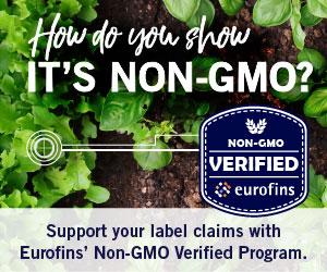 Eurofins GMO Testing Non-GMO Verified