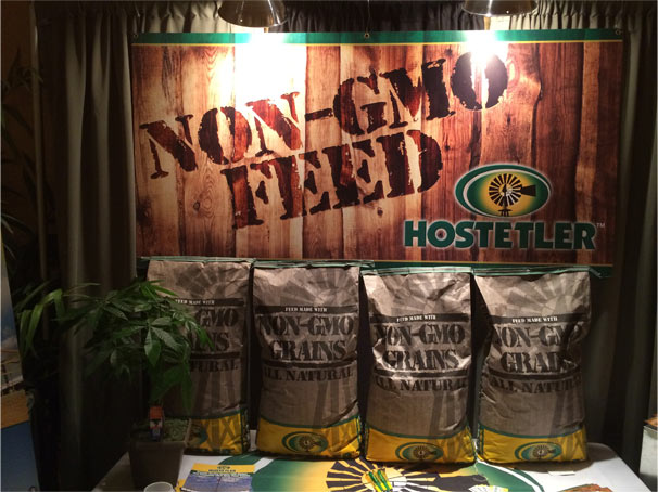 Non-gmo feed grains