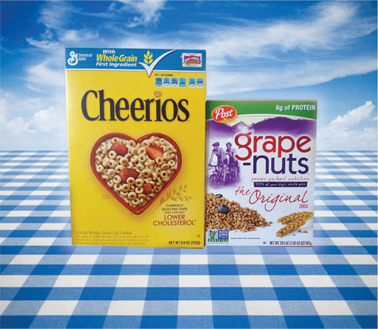 Cheerios and Grape Nuts go non-gmo