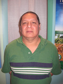 Jerry Young Bear of the Meskwaki tribe
