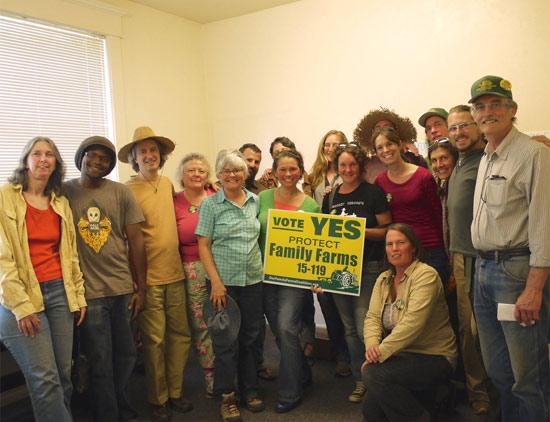 Oregon counties vote yes to protect family farms