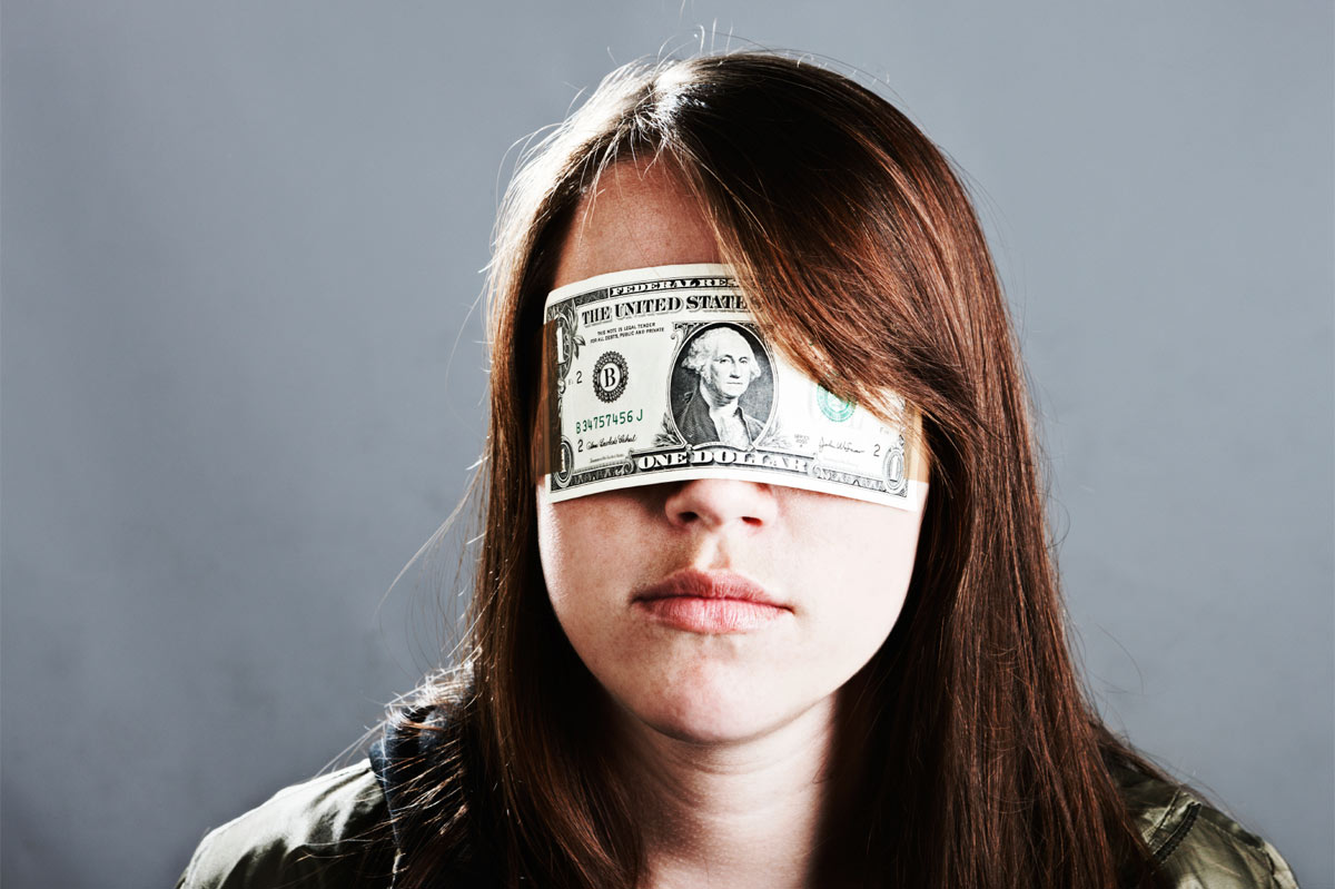 DARK Act non-gmo labeling and blindfold of money