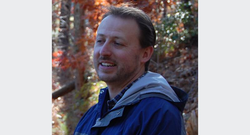 Jonathan Lundgren owner of Blue Dasher Farm