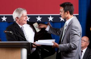 Bribing lobbyist