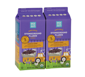 Back to the Roots Purple Corn Flakes
