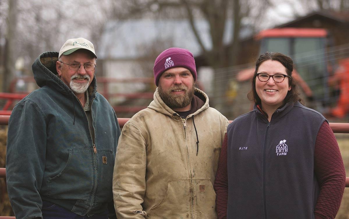The Bishop family of PrairiErth Farm
