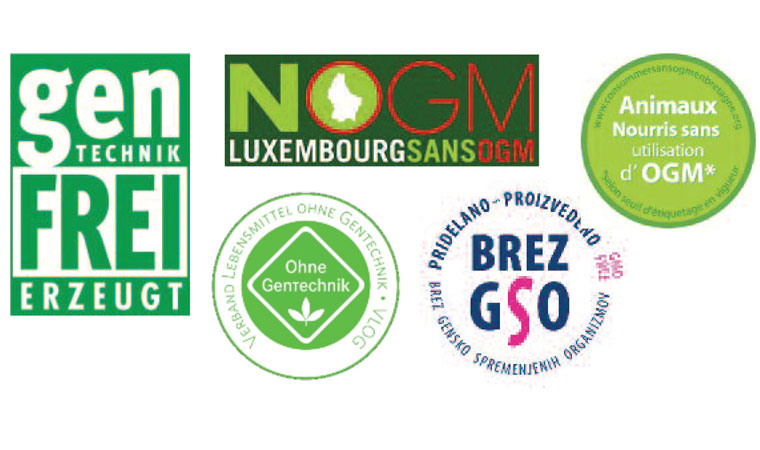 European non-gmo labels