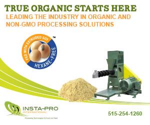 Insta-Pro Organic and Non-GMO Processing