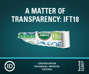 A Matter of Transparancy: IFT18