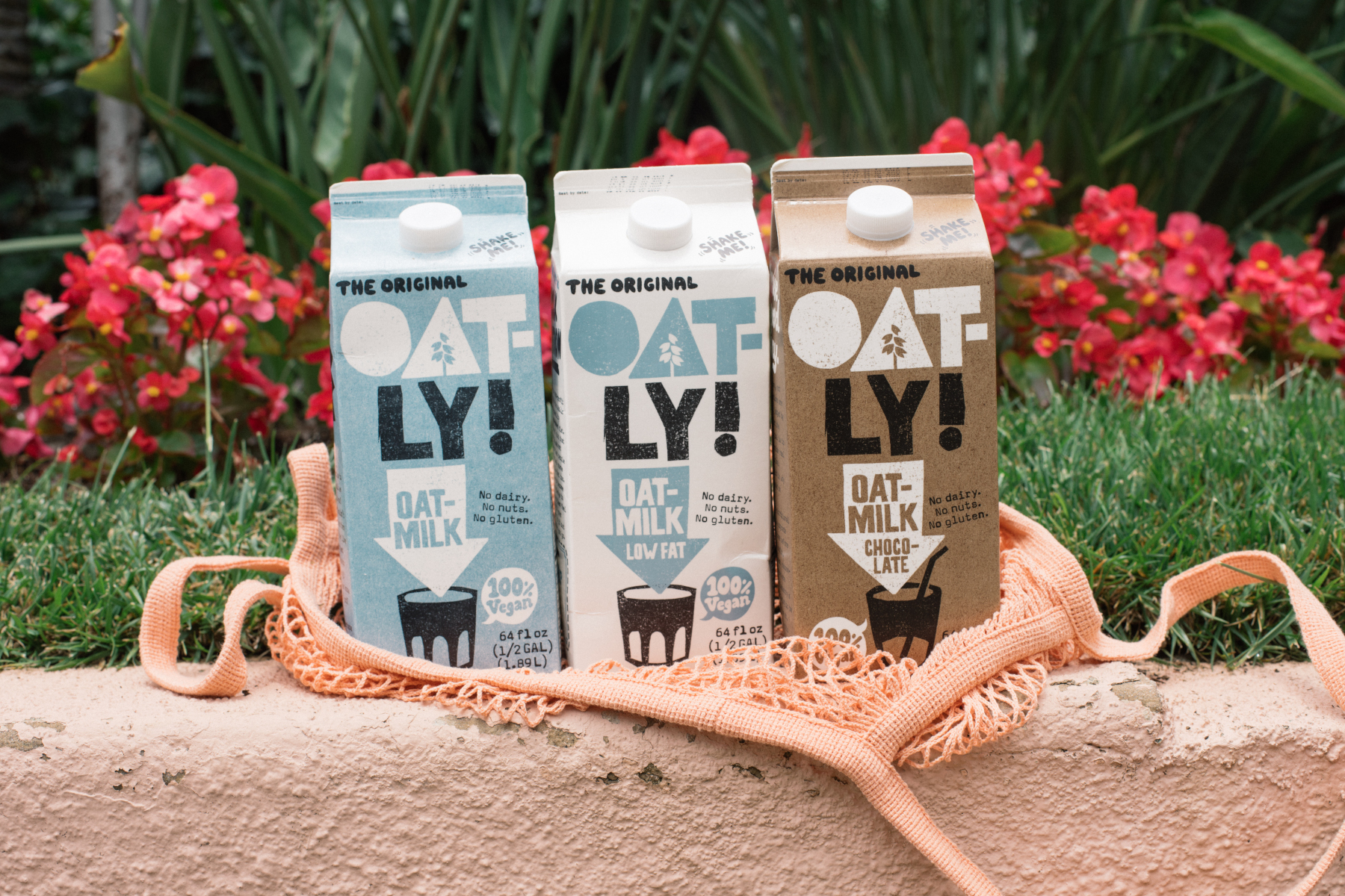 Oatly milk products