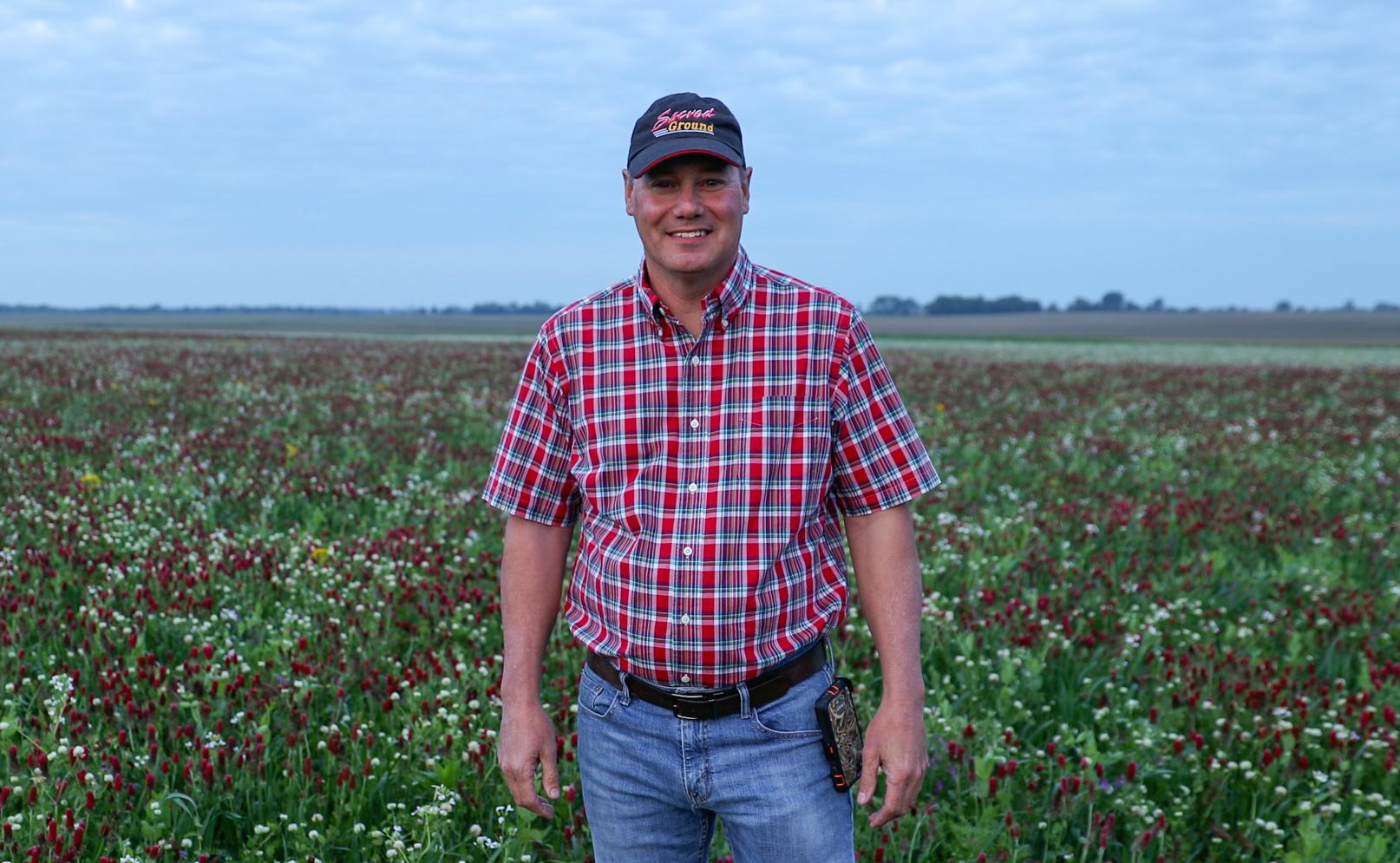 Rick Clark in field
