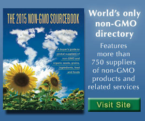The Non-GMO Sourcebook directory of non-gmo suppliers