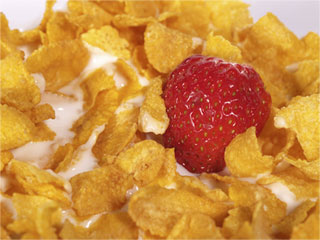 All natural, organic nongmo breakfast cereal