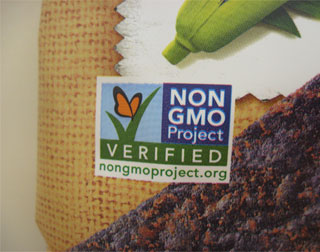 Non-GMO Project verified label