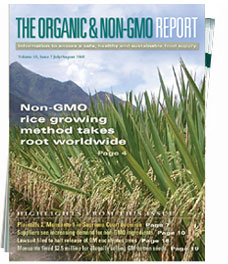 The Non GMO Report