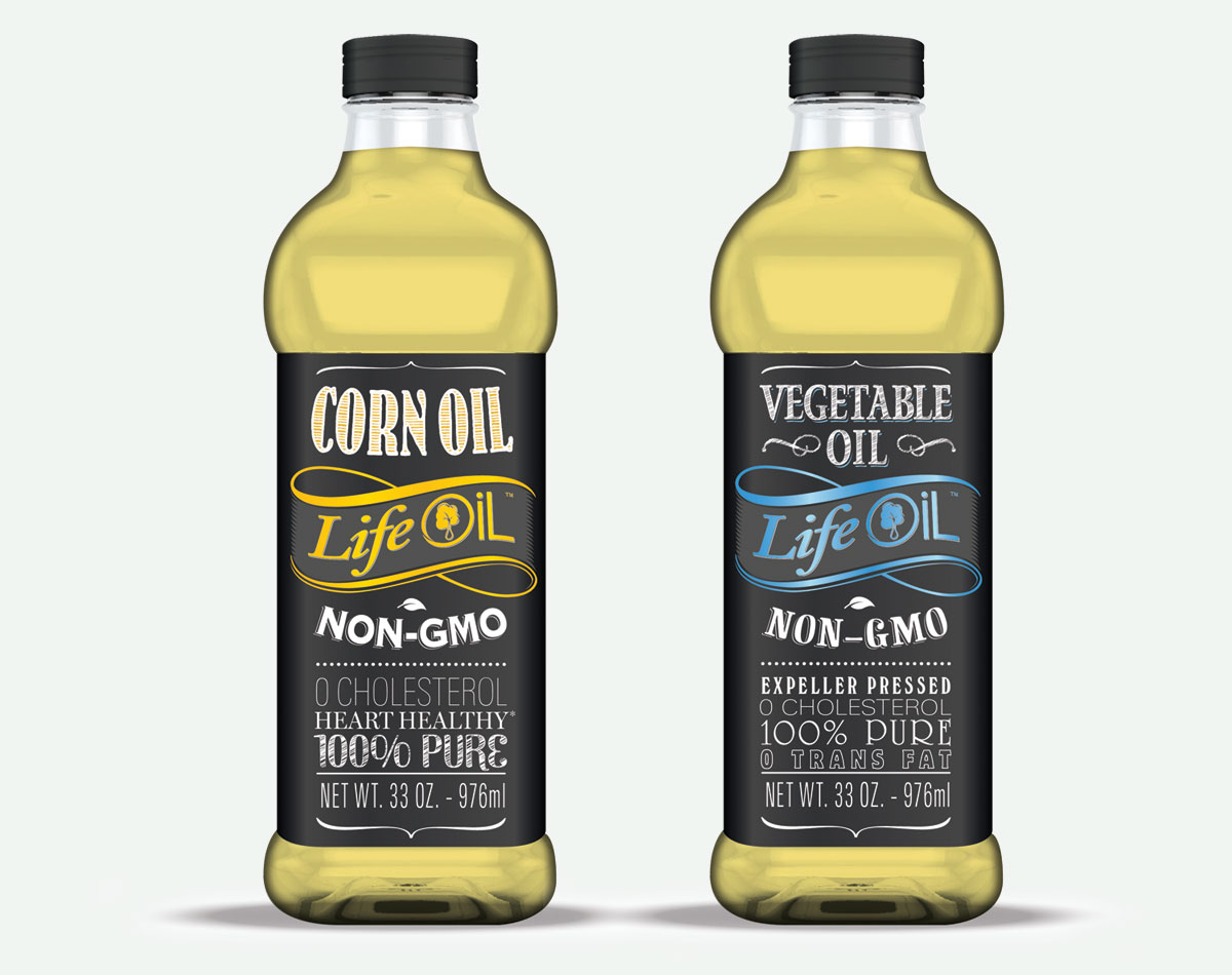 Affordable non-gmo vegetable and corn life oil