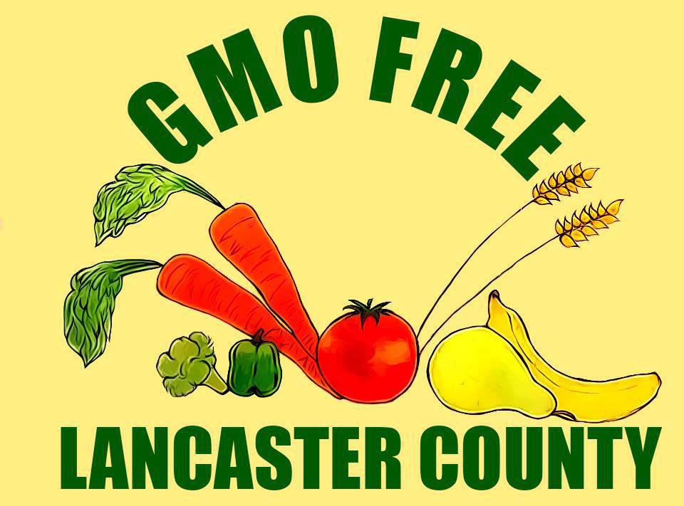 GMO Free Lancaster County logo