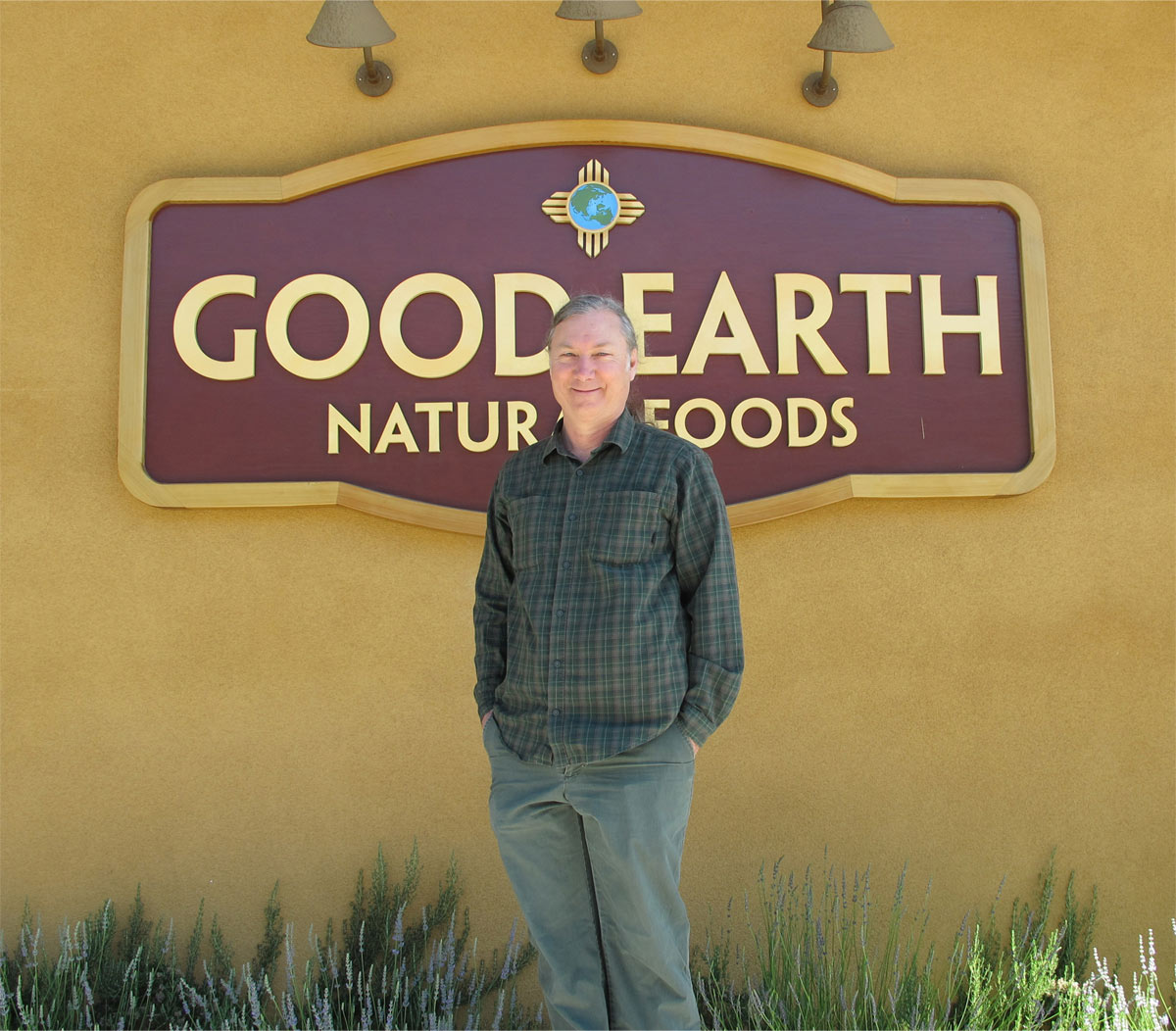Mark Squire co-owner of Good Earth Natural Foods