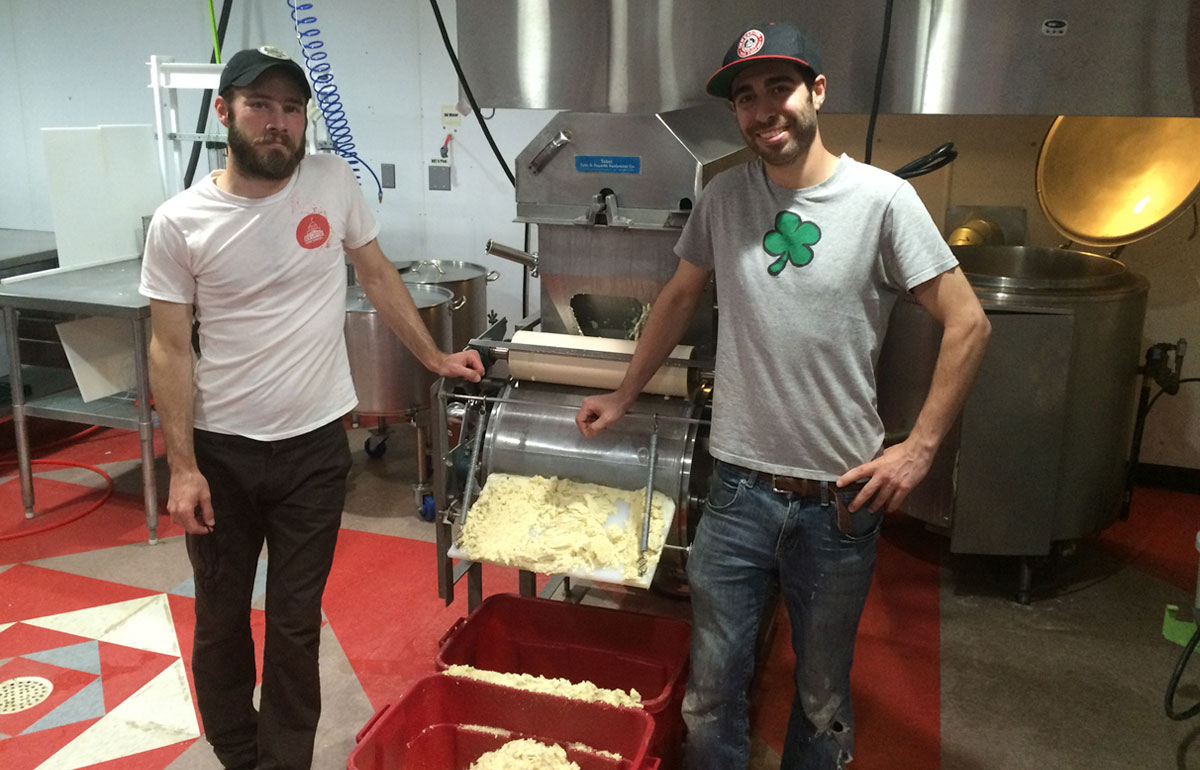 Matthew Mesaros and Jake Gratzon, founders of Old Capitol Food Co