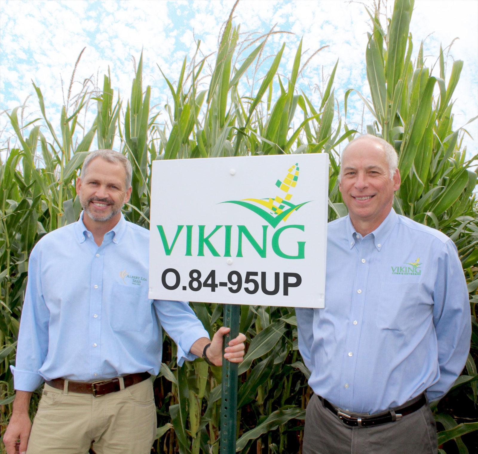 Mac and Tom Ehrhardt co-owners of Albert Lea Seed