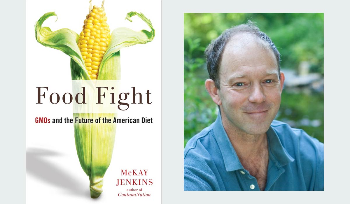 Food Fight book and McKay Jenkins author