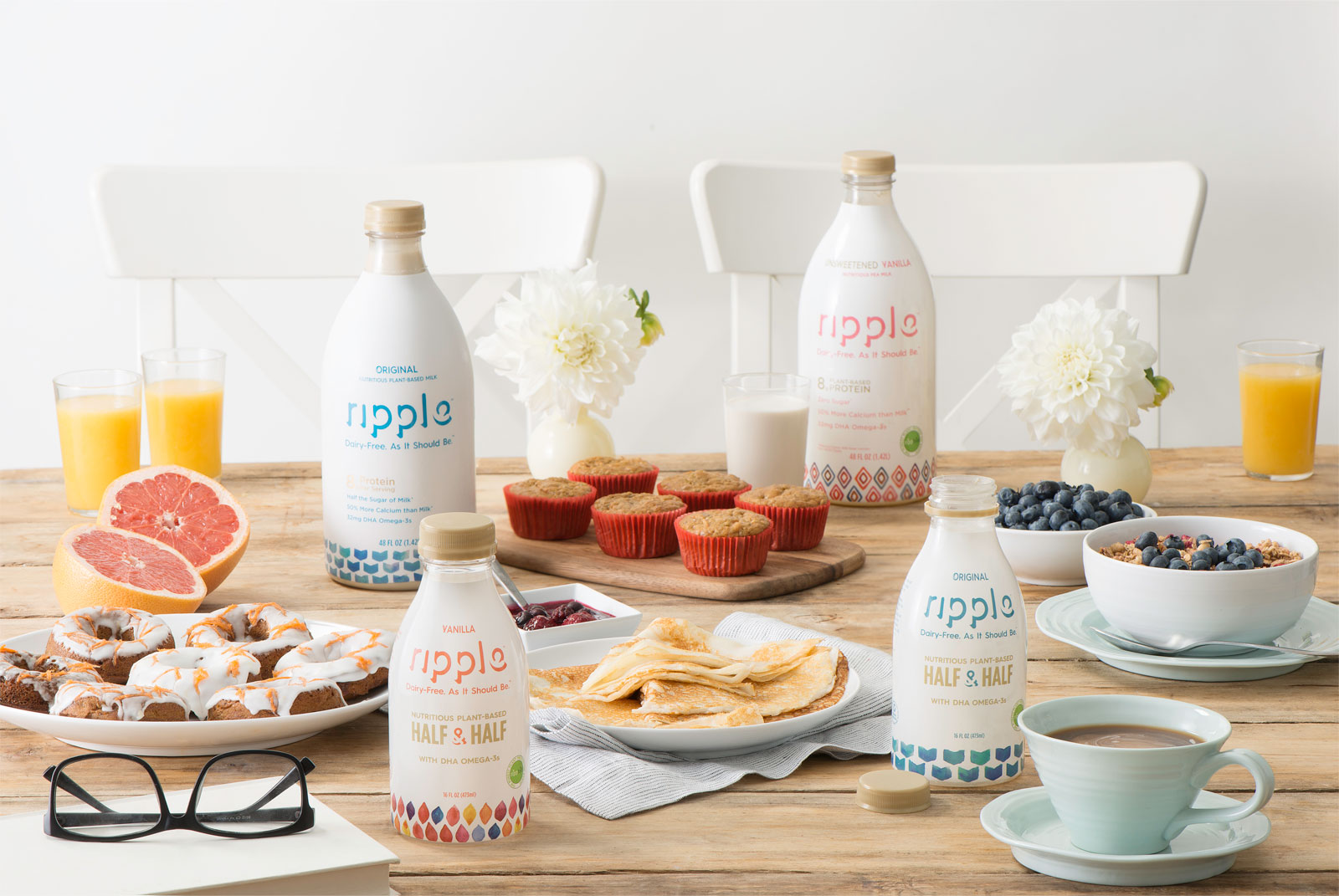 Ripple Foods plant-based milk products