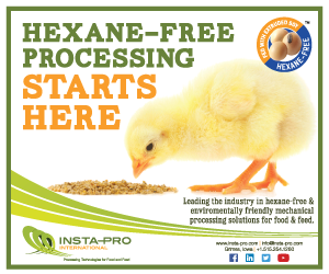 Hexane-free processing starts here