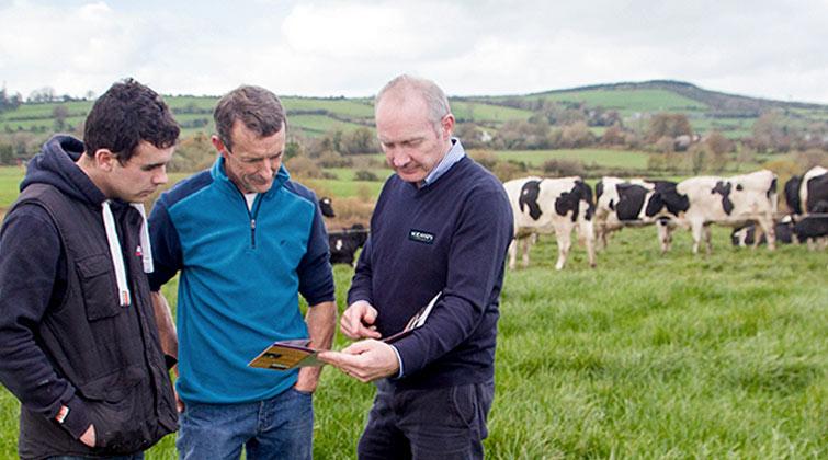 Non-GMO milk inspectors in field