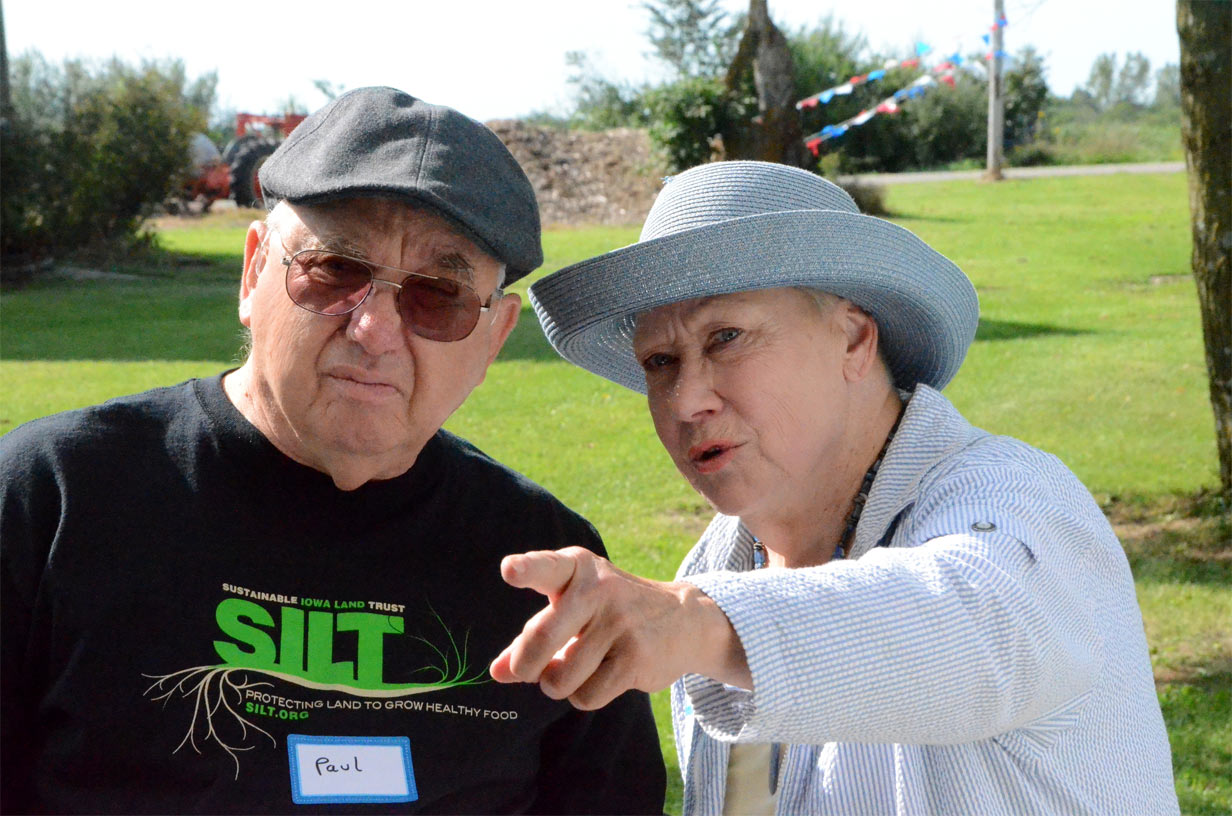 SILT founders in field