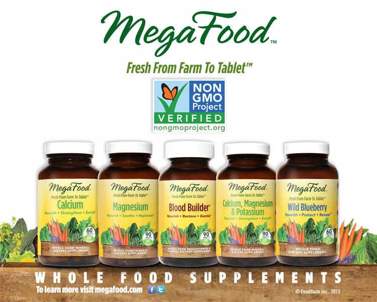 MegaFood product jars