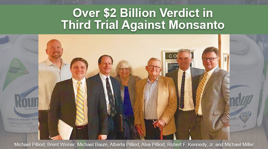 Monsanto trial plantiff lawyers