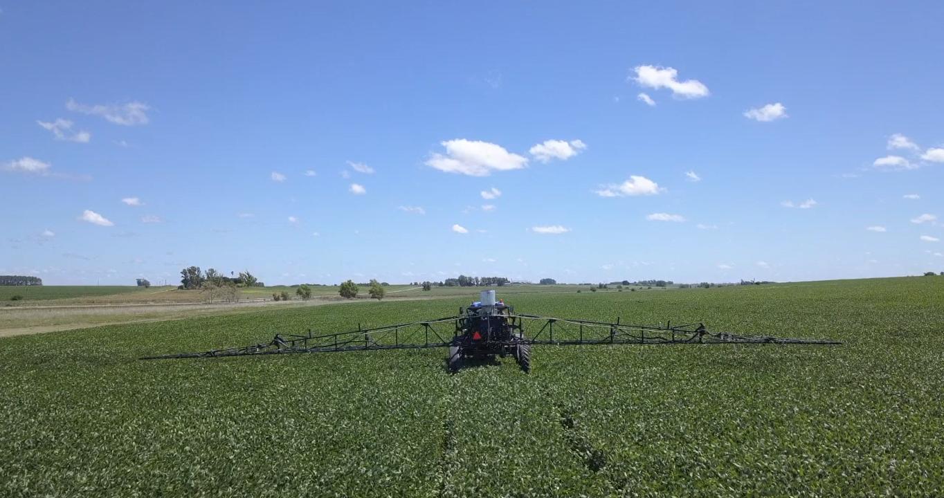 Mosquito machine in field