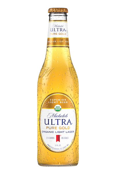Michelob Ultra bottle of beer