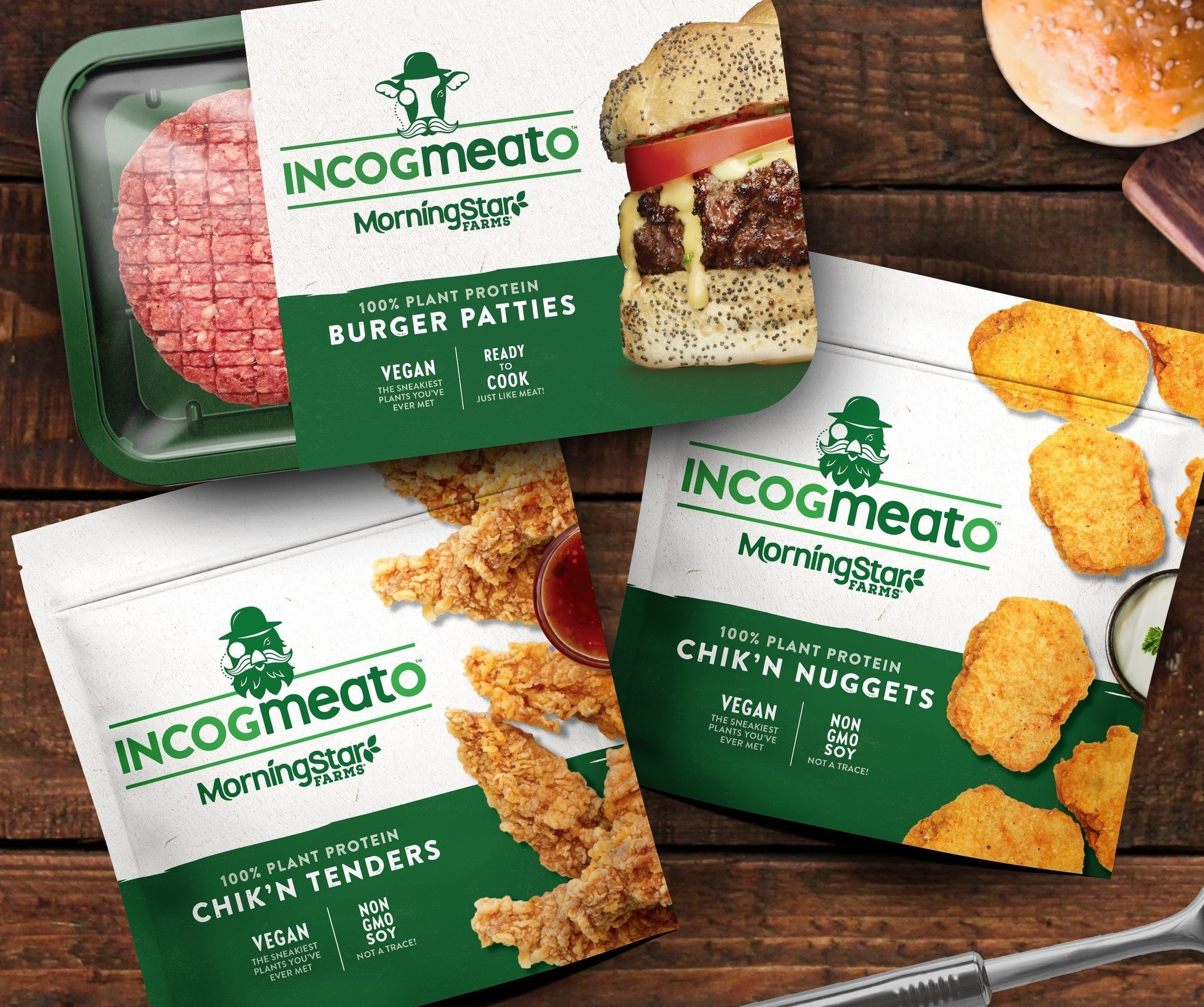 MorningStar Farms Incogmeato products