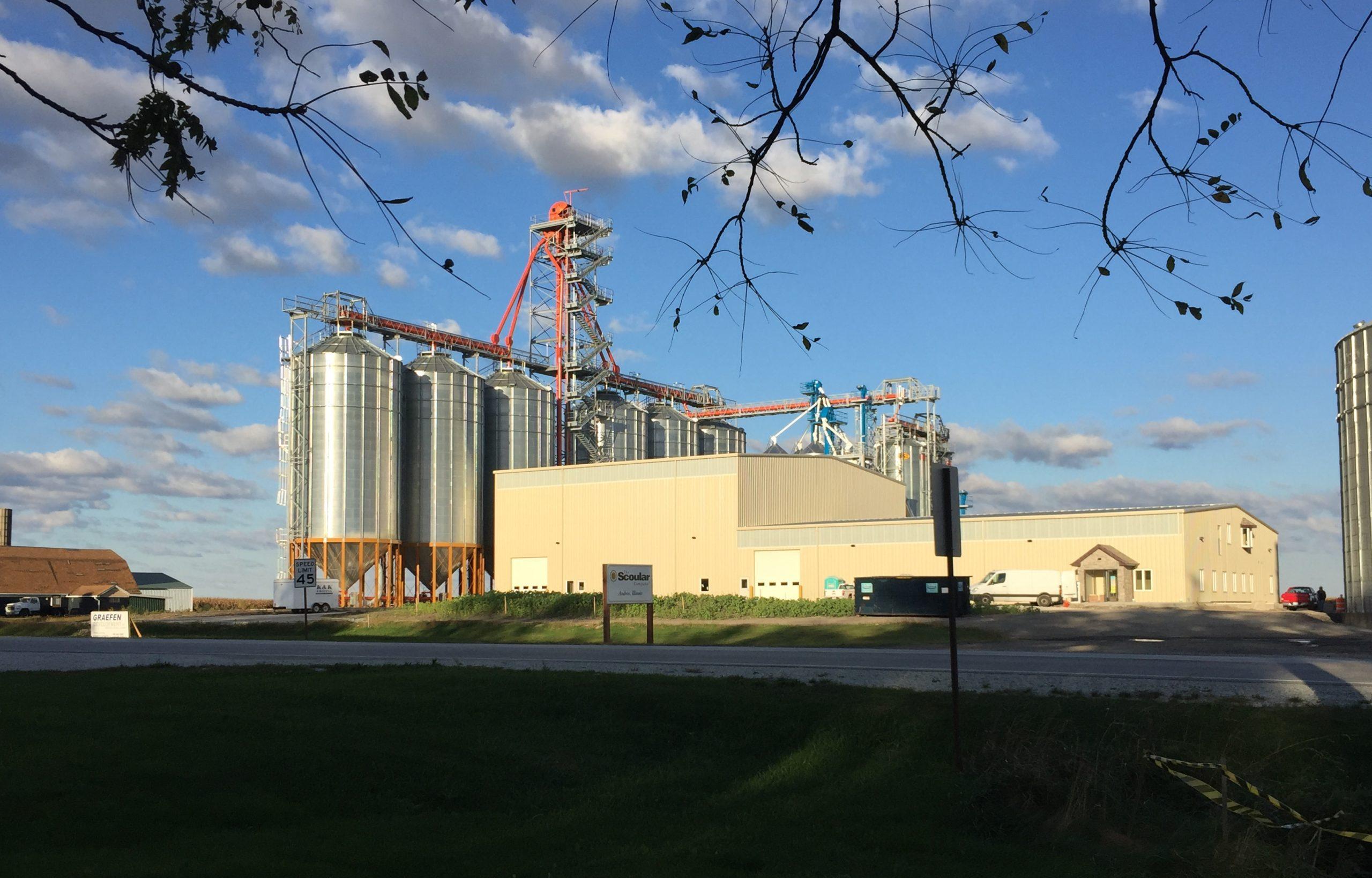 Scoular's non-GMO grain facility