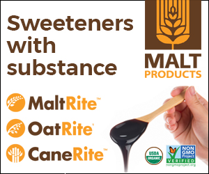 Malt Products sweeteners