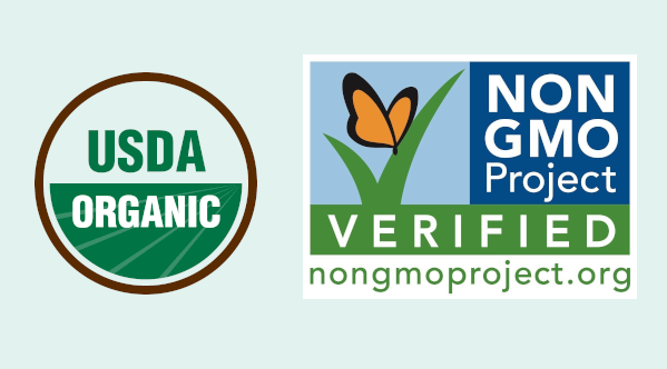 USDA Organic and Non GMO Project