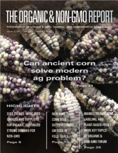 Organic and Non-GMO Report